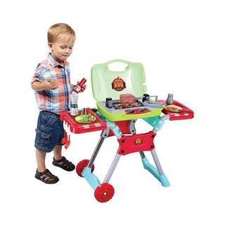 Kid's BBQ 20 Piece Portable Playset with Light and Sound 28459097