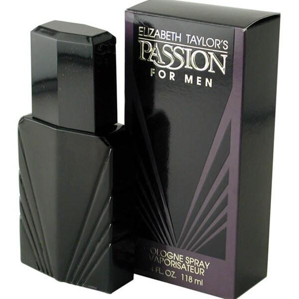 Elizabeth Taylor Passion Men's 4-ounce Spray Cologne