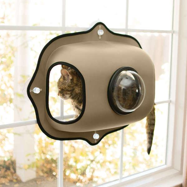 K&H Pet Products EZ Mount Window Bubble Cat Bed and Cat Pod 28465794