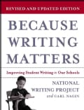 Because Writing Matters: Improving Student Writing in Our Schools (Paperback)