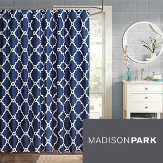 Madison Park Concord Shower Curtain