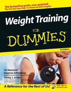 Weight Training for Dummies (Paperback)