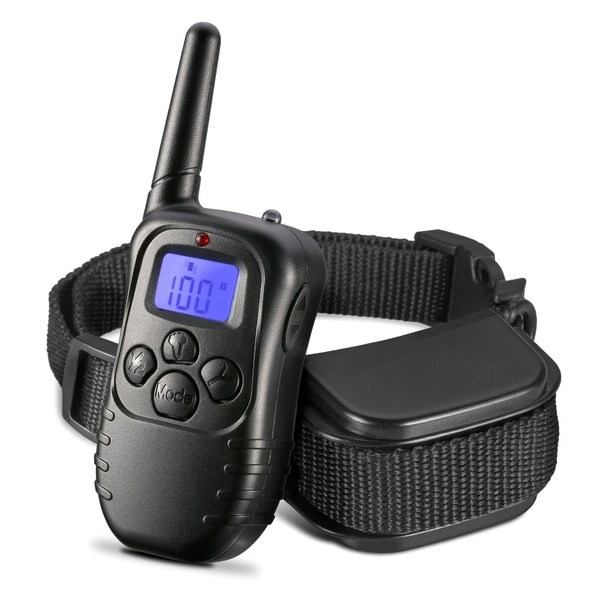 Turbot Remote Dog Training Collar 330 Yards Dog Training Collar with Beep/Vibration/Shock/Light 28539089
