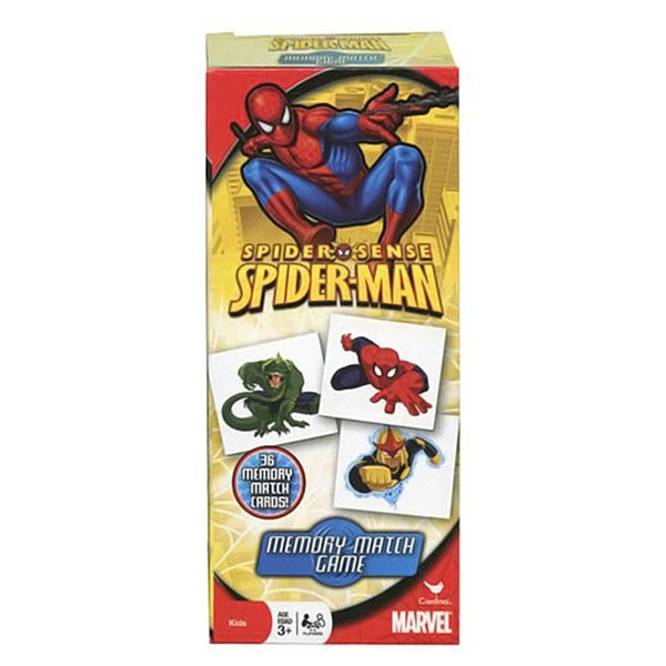 Marvel's Spiderman Tower Memory Match Game 28551375