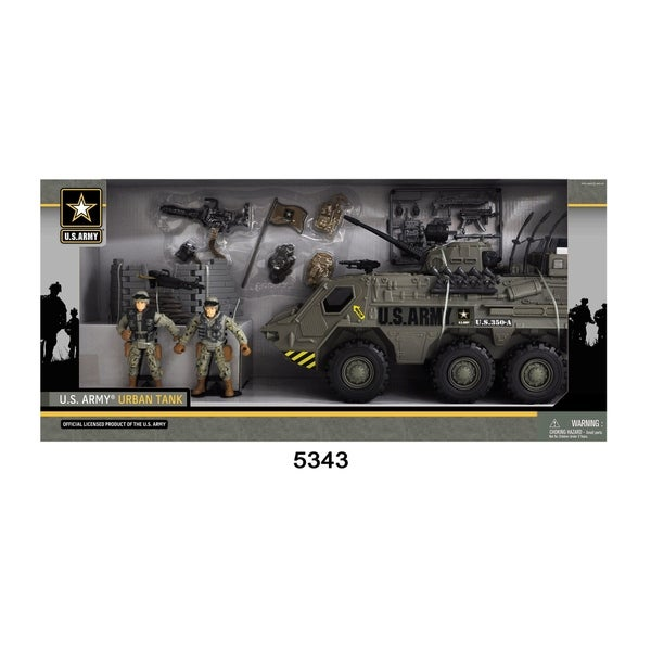U.S. Army Tank Playset W/ Light and Sound 28552515
