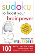 Sudoku to Boost Your Brain Power: 100 Wordless Crossword Puzzles (Paperback)