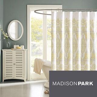 Madison Park Jalisco Cotton Shower Curtain