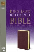 Holy Bible: King James Version Personal Size Reference Burgundy Imitation Leather (Paperback)