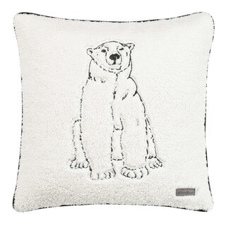 Eddie Bauer Cozy Polar Bear Throw Pillow