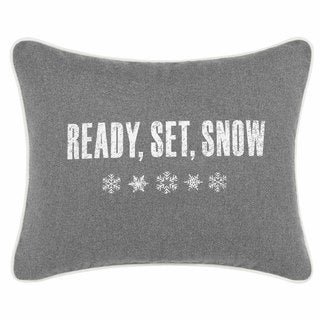 Eddie Bauer Ready Set Snow Throw Pillow