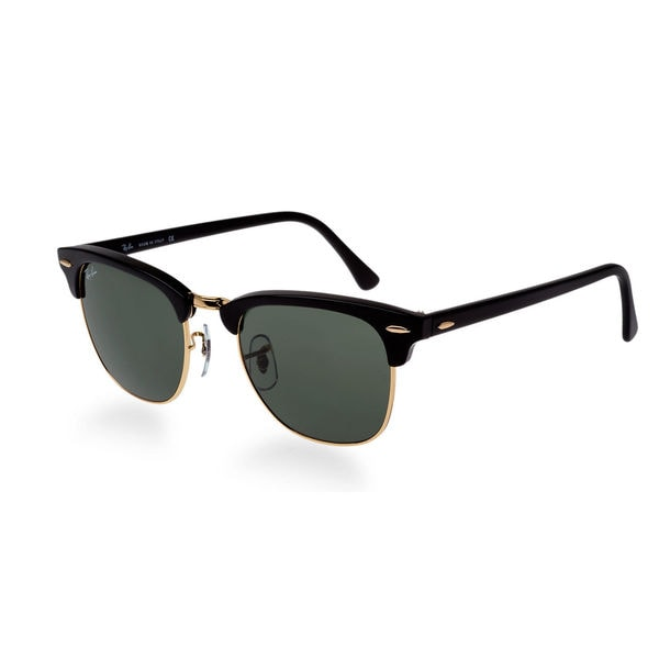 Ray-Ban Unisex 'Clubmaster RB3016 114519' Round Sunglasses 13839400