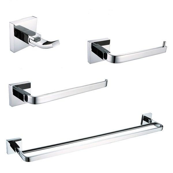 Ancona Alessia 4-piece Bathroom Accessory Kit 28576652