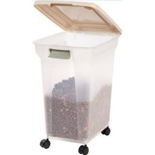 IRIS 55 Quart Airtight Pet Food Container 28577211