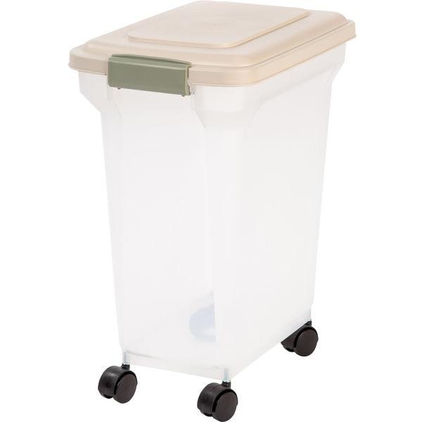 IRIS 28 Quart Airtight Pet Food Container 28577214