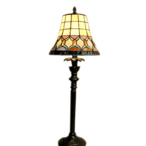 tiffany style jeweled table lamp 10080661 shopping. Black Bedroom Furniture Sets. Home Design Ideas