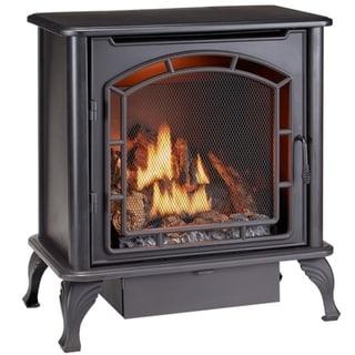 Duluth Forge Dual Fuel Ventless Gas Stove - Model DF25SMS, TSTAT