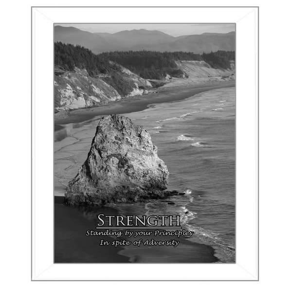 """Strength"" by Trendy Decor 4U Printed Framed Wall Art 28604654"