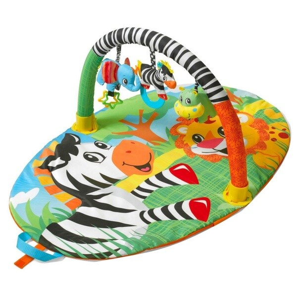 Infantino Explore and Store Activity Gym Jungle Buddies 28609339