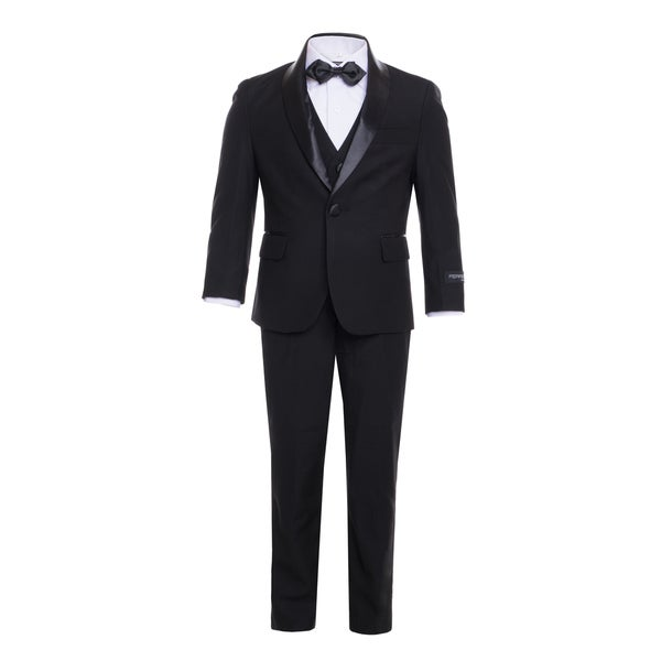 Ferrecci Boys 5-Piece Shawl Collar Tuxedo Suit Set 28610175