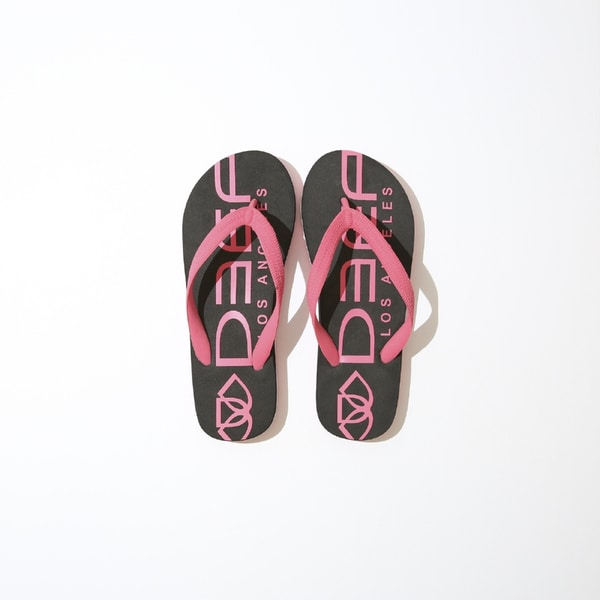 Deep Lifestyles Pink/ Black Women Summer Sandals Comfort Casual Thong Flat Slipper Flip Flops Flip-Flop Flipflops Shoes 28615157