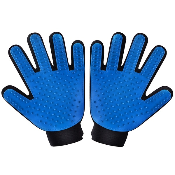 Two-sided Pet Grooming Gloves Brushes, Deshedding Tool, for Removing Pet Shedding Hair 28620924
