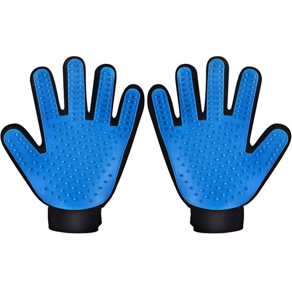 Pet Grooming Massage Glove Brush, Pet Dog Cat Grooming Gloves Hair Remover Brush Glove 28621644