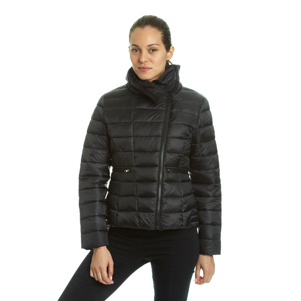 Champion Women's Asymmetrical Zip Short Quilted Puffer Jacket 28628760