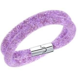 Swarovski Stardust Mauve Double Bracelet M - 5120044 28631652