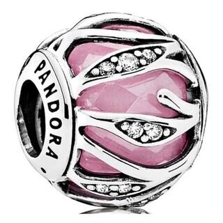 Pandora Pink Natures Radiance Charm - 791969PCZ 28631697