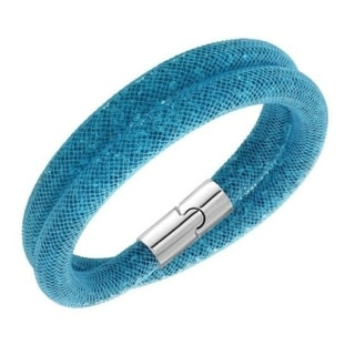 Swarovski Stardust Blue Double Bracelet Medium - 5120022 28631817