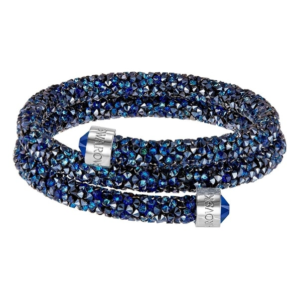 Swarovski Crystaldust Bangle Double - Blue - 5237752 28631998