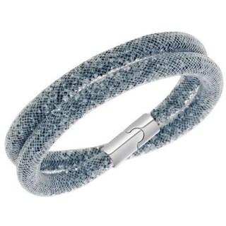 Swarovski Stardust Dark Gray Double Bracelet Size M - 5089847 28634965