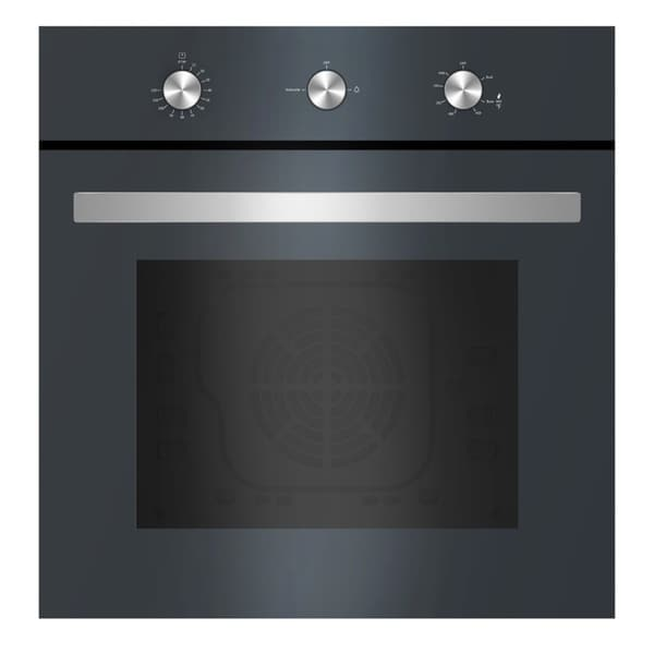 "Empava 24"" Tempered Glass Gas Single Wall Oven 58D-03 28639976"