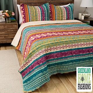 Greenland Home Fashions Southwest Cotton 3-piece Quilt Set