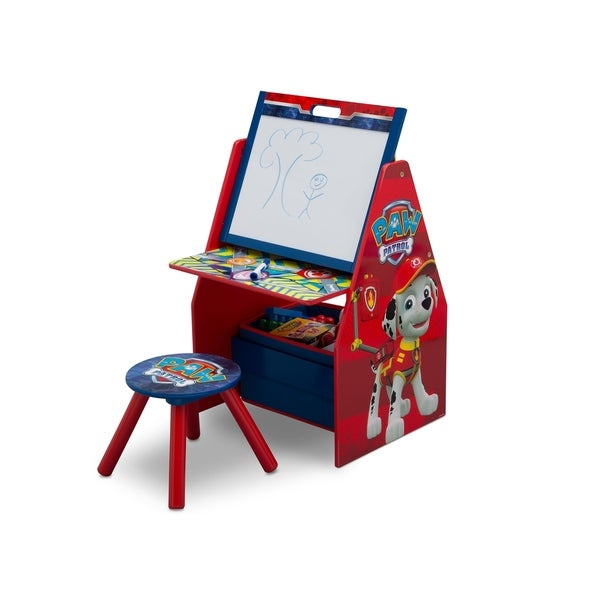 Nick Jr. PAW Patrol Activity Center - Easel Desk with Stool & Toy Organizer - Multi 28661020