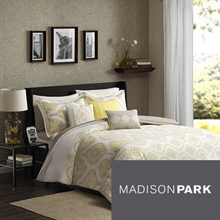 Madison Park Jalisco 6-Piece Cotton Duvet Cover Set