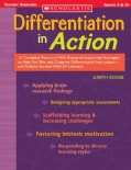 Differentiation in Action: Grades 4 & Up (Paperback)