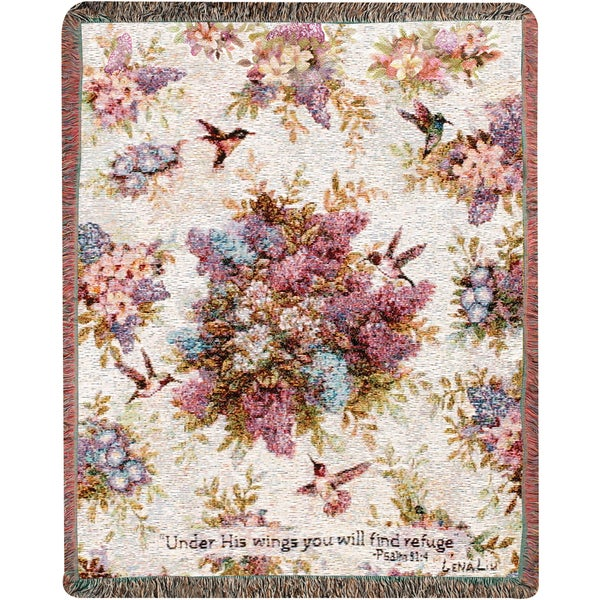 Manual Whisper Wings Tapestry Throw 28672194