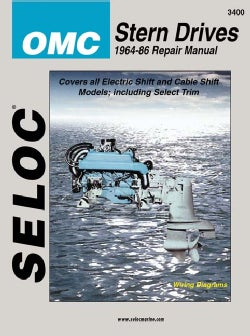 Omc Stern Drive 1964-1986: Tune-Up and Repair Manual (Paperback)