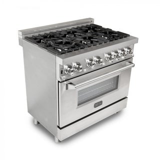 ZLINE 4.6 cubic feet6 Gas Burner/Electric Oven Range (RA36)