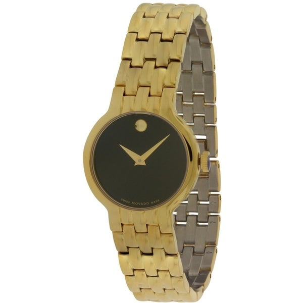Movado Veturi Goldplated Stainless Steel Ladies Watch 0606935 28691215