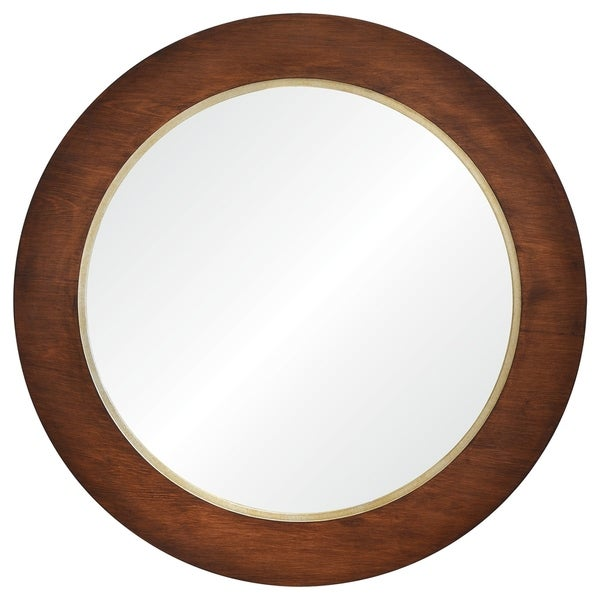 Renwil Winton Framed Round Wall Mirror 28691643