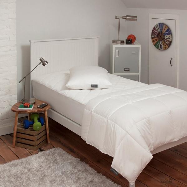 Eddie Bauer 3 Piece Dorm University Bedding Kit - Twin XL Mattress Pad, Comforter & Pillow (Fits Twin Too) 28701964