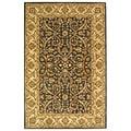 Safavieh Handmade Sultanabad Charcoal Grey/ Ivory Wool Rug (7'6 x 9'6)