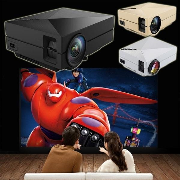 Mini Portable Home Cinema Theater LED Projector HD 1080P HDMI AV USB VGA 28726036