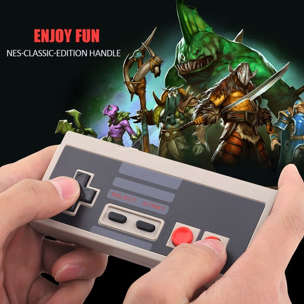 High Sensitive Game Controller For Nintendo NES Mini Classic Edition + Cable 28726269