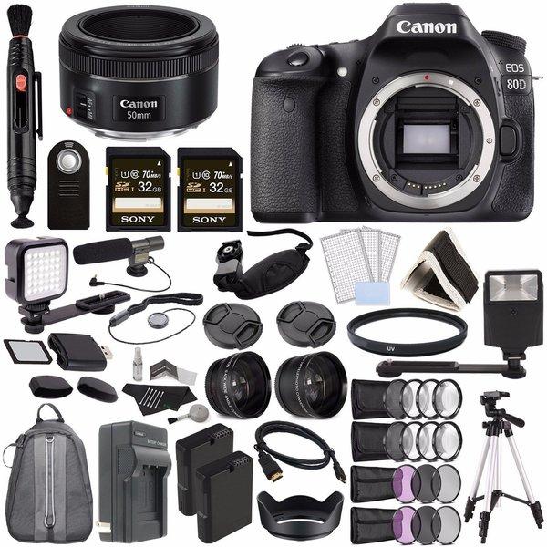 canon eos 80d dslr camera bundle 149901 gay times