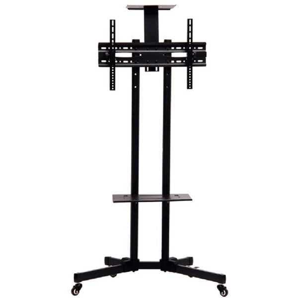 "TV Mobile Rack Stand with Wheels for LCD LED Plasma Flat Panels 32"" to 65"" 28729120"