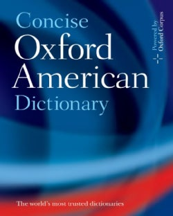 Concise Oxford American Dictionary (Hardcover)