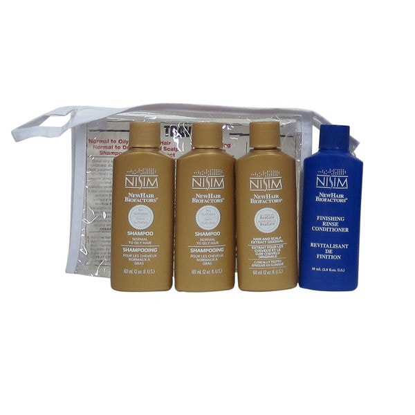 Nisim Hair Loss Survival 4-piece Travel Kit for Normal to Oily Hair 28779874